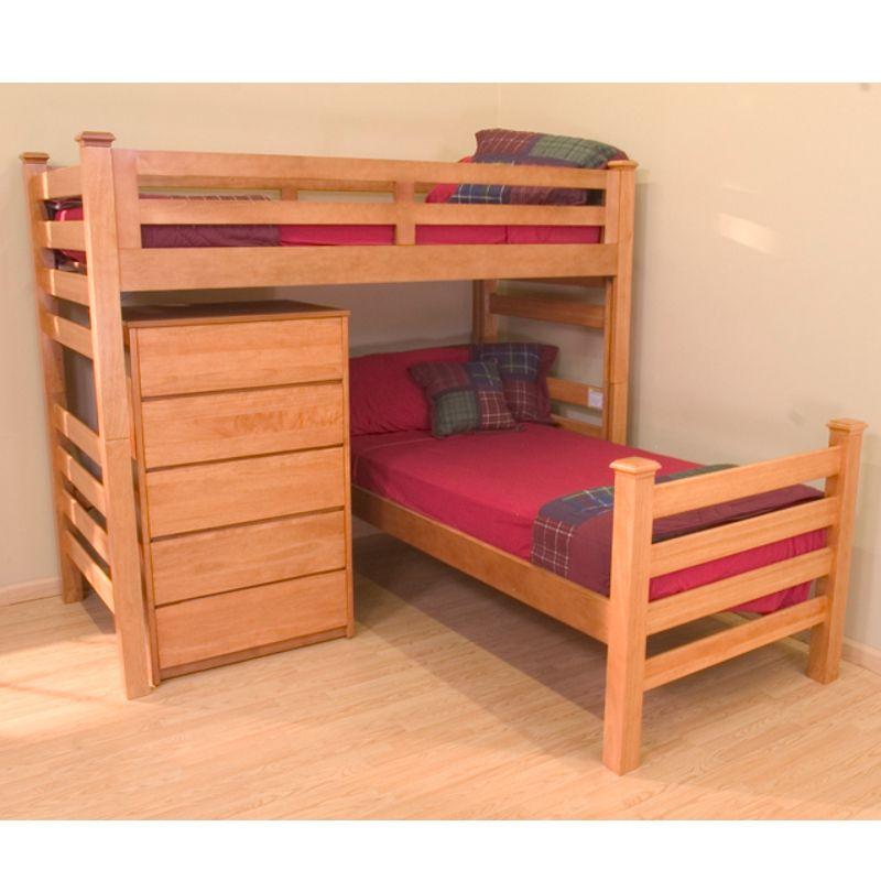 University Loft Graduate Series Twin Xl Sr Crew Loft Bed Wild