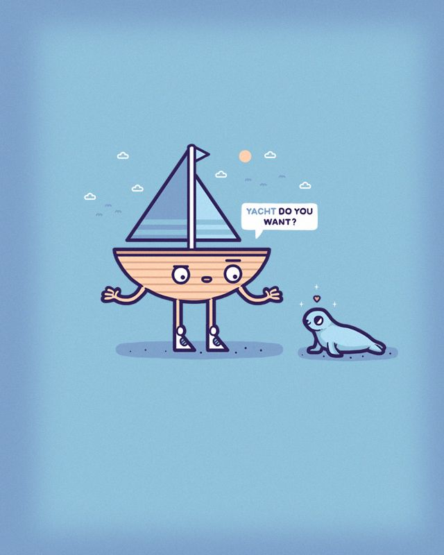 I want to sea if you can make better boat puns... | Punny ...