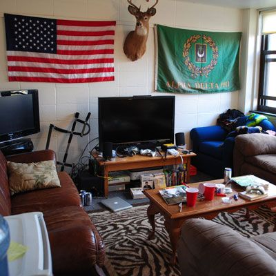 Manly Common Room Get Preppy College Dorm Room Ideas Like
