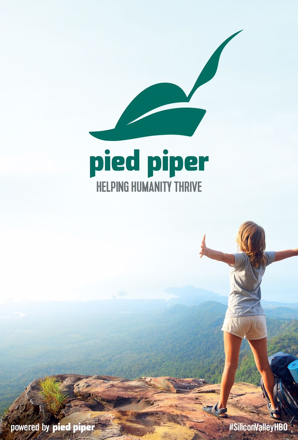 Hbos Fake Posters For Silicon Valleys Pied Piper Perfectly Mock