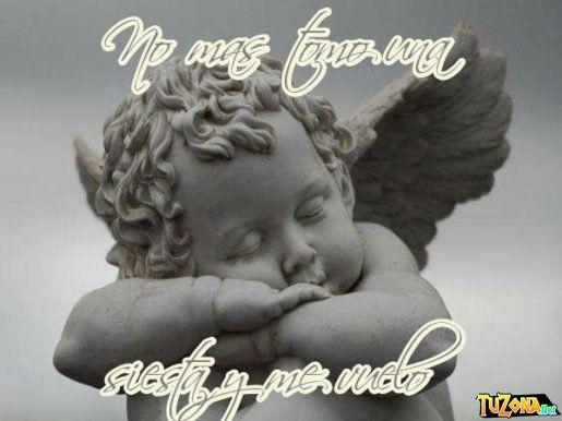 angel durmiendo