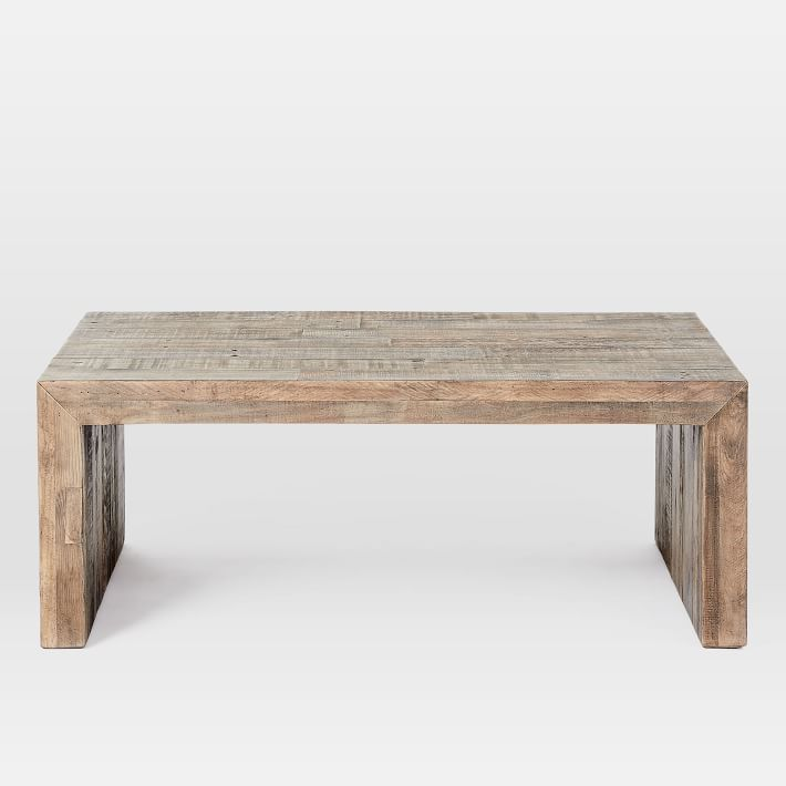 Emmerson Reclaimed Wood Coffee Table Stone Gray In 2020 Reclaimed Wood Coffee Table Coffee Table Wood West Elm Coffee Table