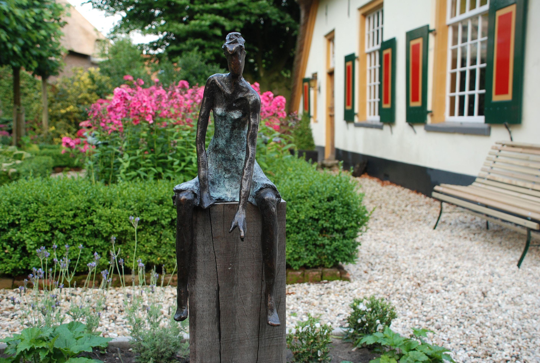 Tuinbeelden Brons Tuin : Bronzen tuinbeeld beeld voor buiten beeld voor in de tuin bronzen