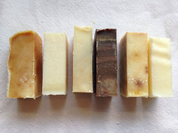 Organic Soap - Mini Bars - Vegan - Samples Soaps, Favour and Minis - food list samples