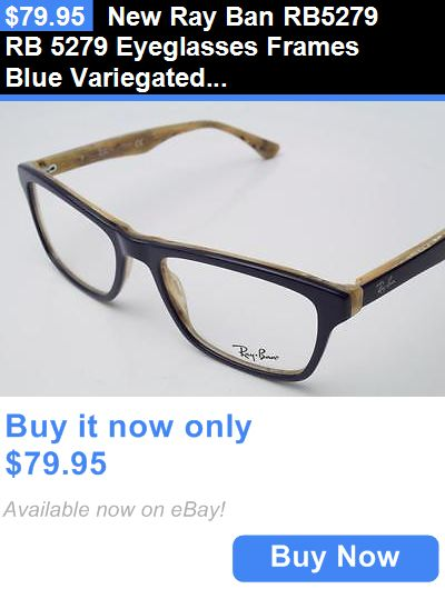 19f6f1edc633 ... closeout eyeglass frames new ray ban rb5279 rb 5279 eyeglasses frames  blue variegated 5131 authentic 55mm