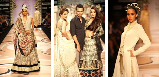 From India's Lakme Fashion Week r/s 2012 in Mumbai