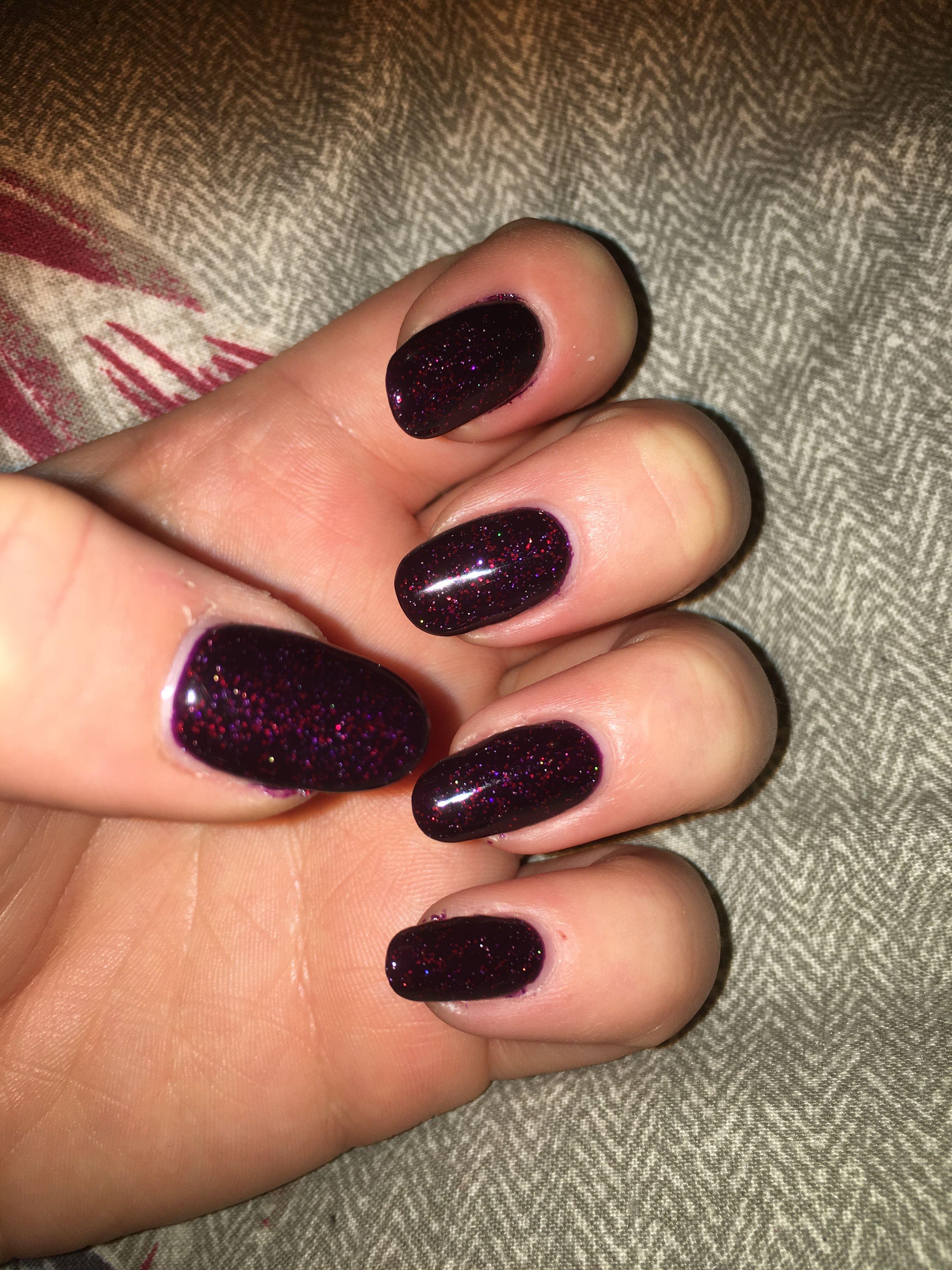 Bluesky black cherry nails | nails | Pinterest | Cherry nails, Sky ...