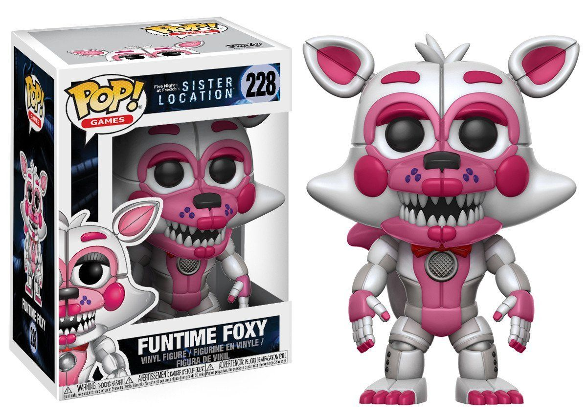 Pop Games Vinyl Figure Five Nights At Freddy S Sister Location