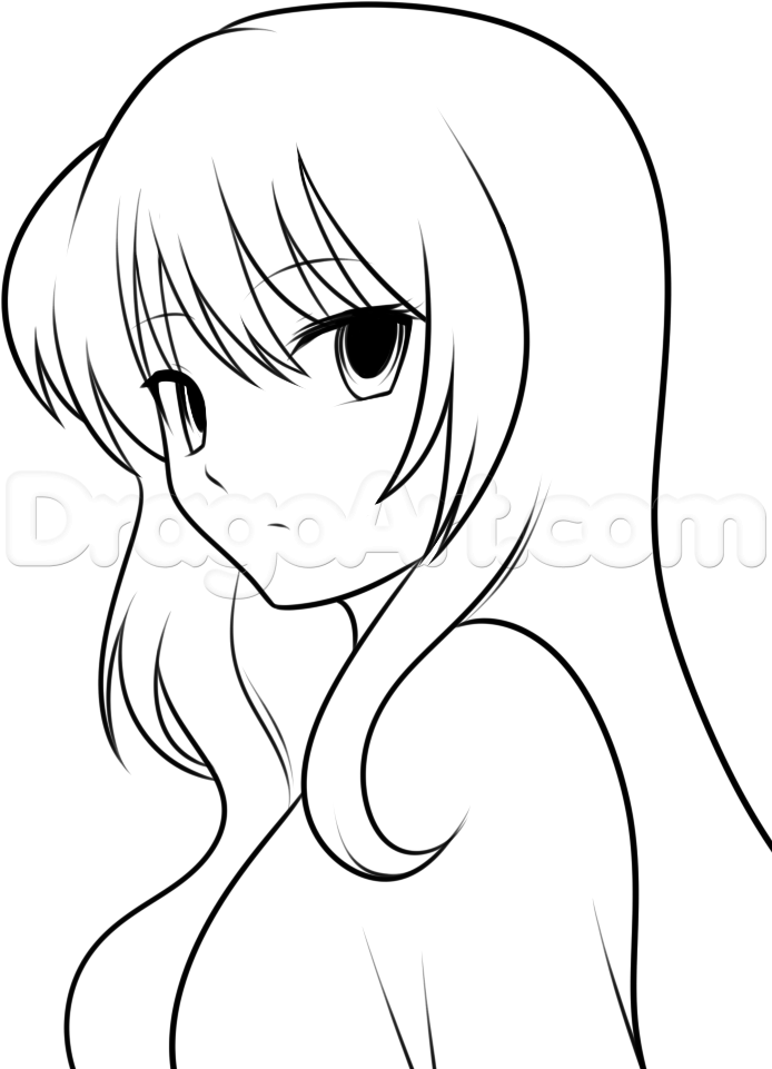 Drawing pictures · easy drawings of anime
