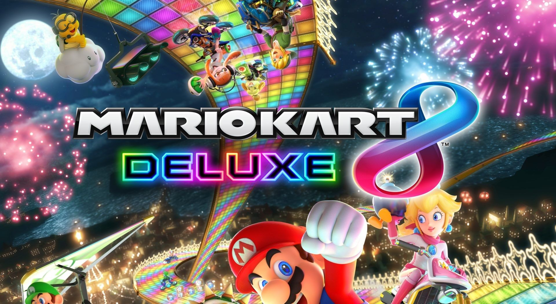 Mario Kart 8 Background: Mario Kart 8 Deluxe Wallpapers HD