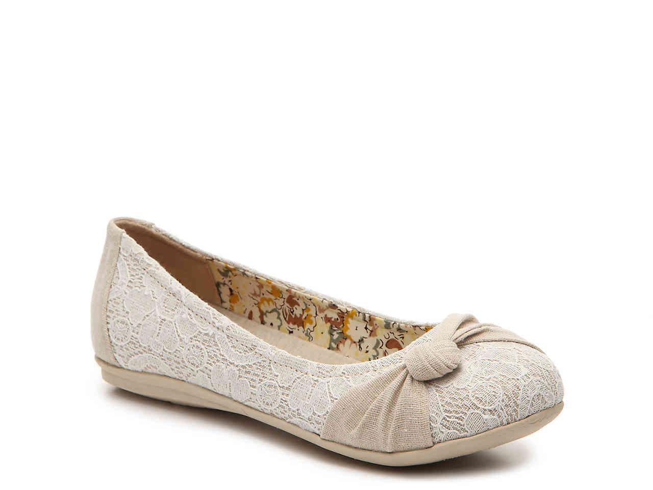 Zeva Ballet Flat Flats Jellypop Shoes