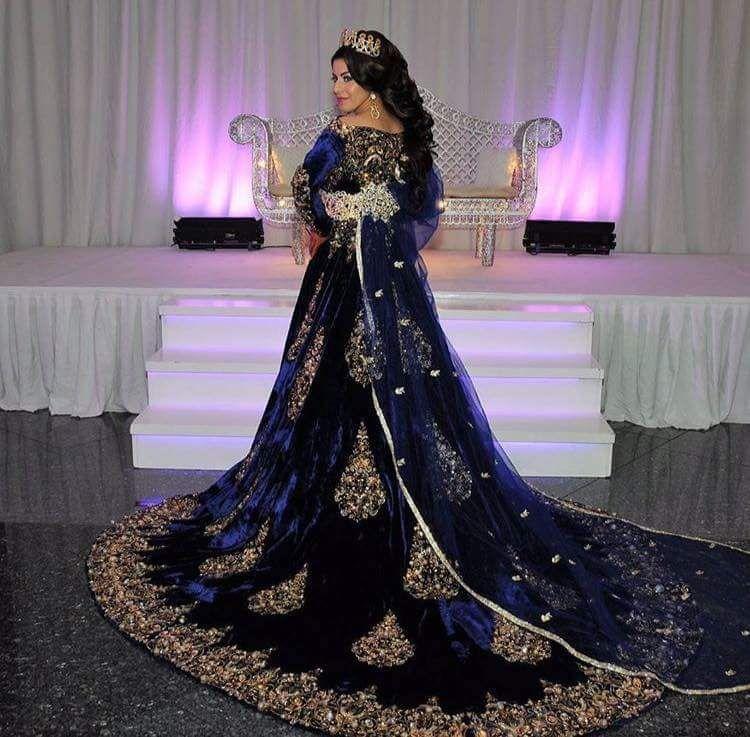 Turkish henna kaftan | Robe de mariée arabe,