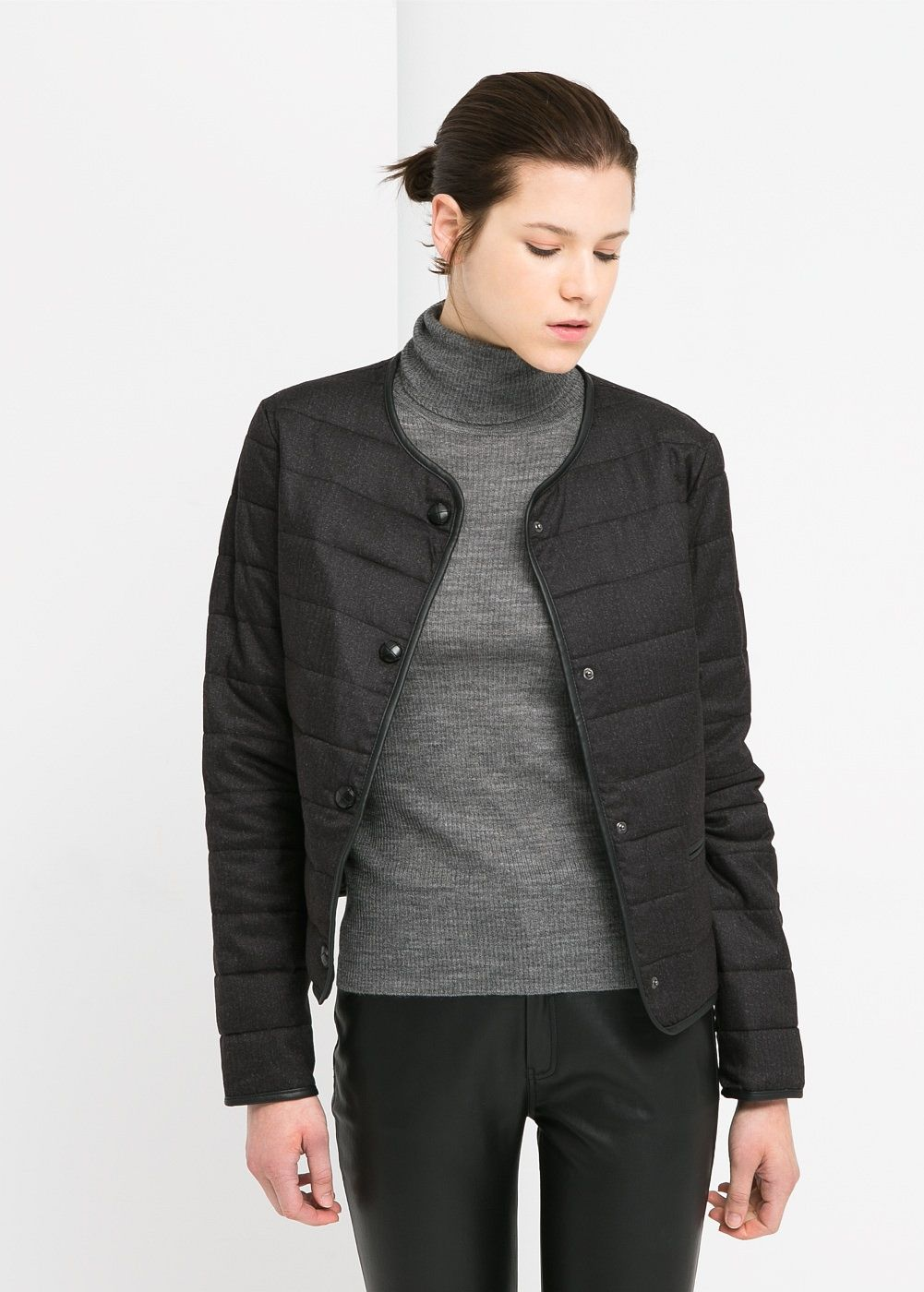 Elbow patch coat Women With images Coats for women