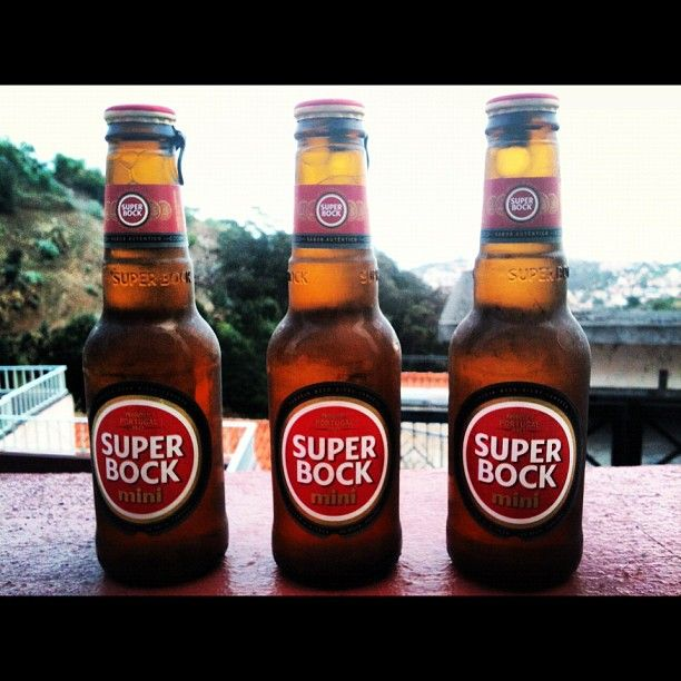 Super Bock Beer Bottle