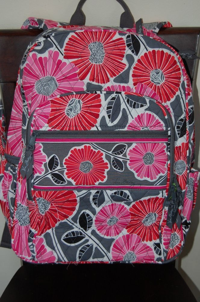 1013d1c50e NEW WITH TAGS VERA BRADLEY CHEERY BLOSSOM BLOSSOMS CAMPUS BACKPACK   VeraBradley  BackpackStylecampus