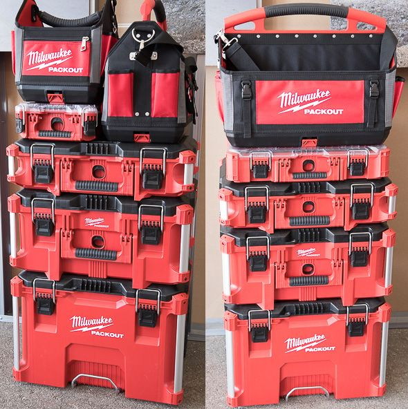 Milwaukee Packout Tool Storage Stack Examples Tools In