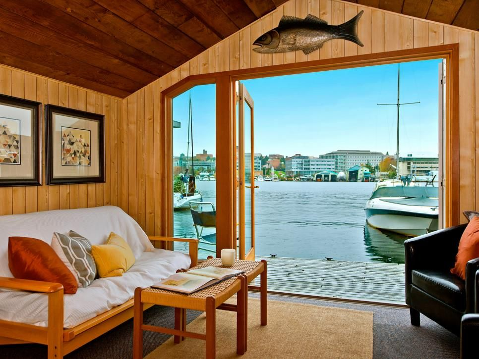 15 stylish houseboats for sale and for rent hgtv