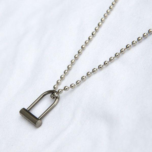 U Lock Necklace