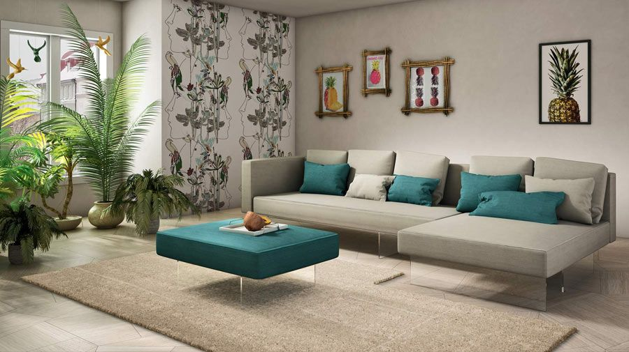 Living room design ideas a light and airy feel with crisp lines and