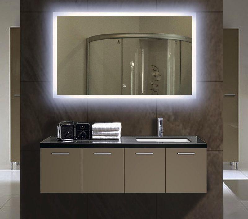 Illuminated Bathroom Mirrors Bathroom Mirror Lights Bathroom