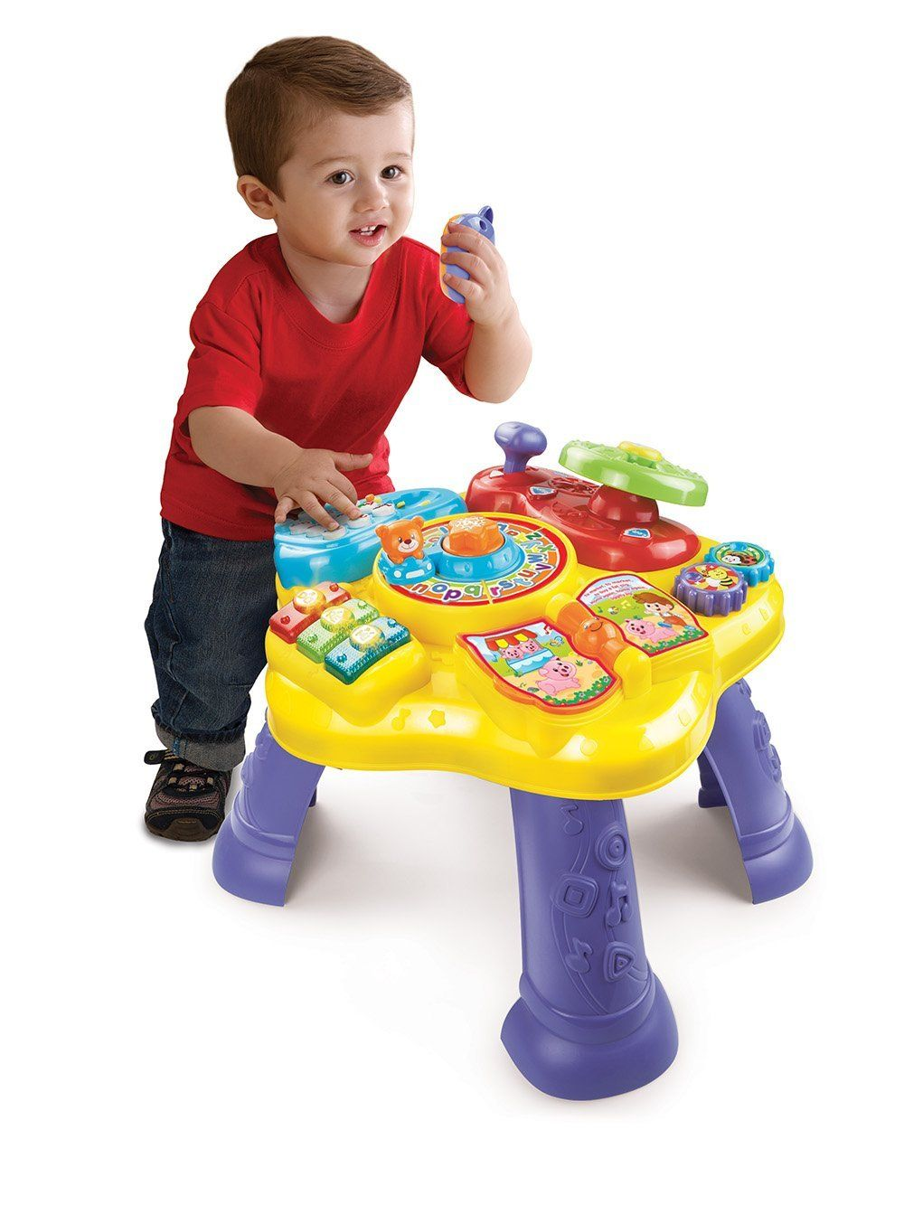 LeapFrog Learn and Groove Musical Table Activity Center. Magic-Star-Learning -Table-Baby-Activity-Set-EDUCATIONAL-Toy-VTech-Floor-Play-NEW