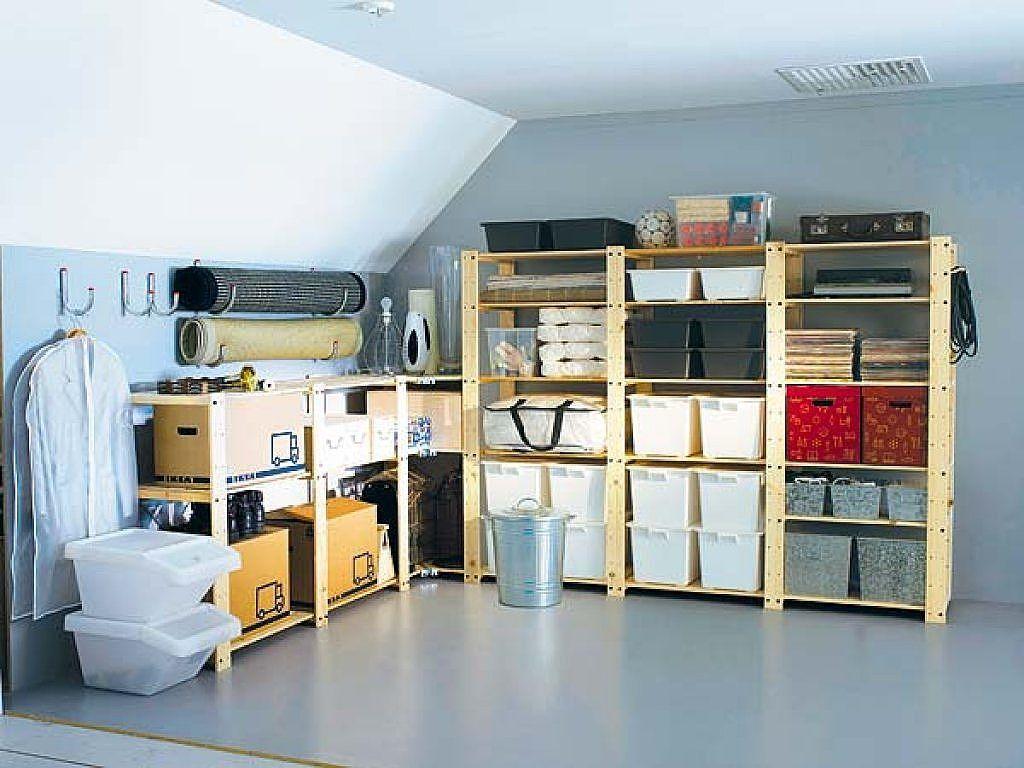 Ideas para ordenar decorar tu casa es facil y trastero - Estanterias para trastero ...
