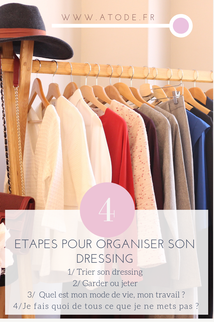 comment organiser son dressing pour un capsule wardrobe ? conseils