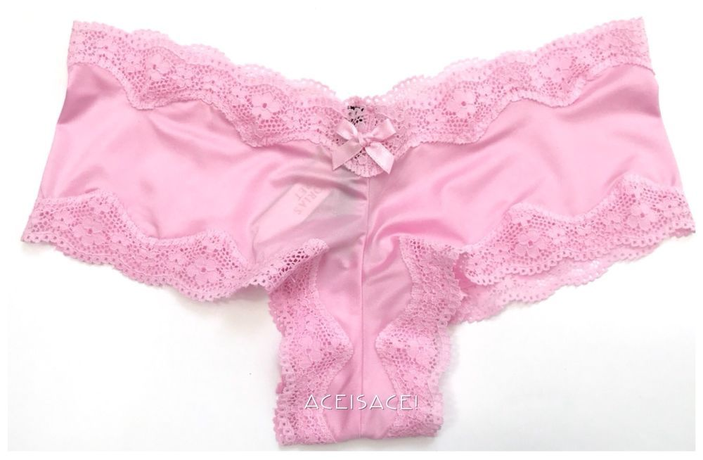 8f0258873b NWT  Victoria s Secret VERY SEXY SILKY SOLID CHEEKY Panty---PINK---XS XP   VictoriasSecret  VERYSEXYCHEEKY  Everyday