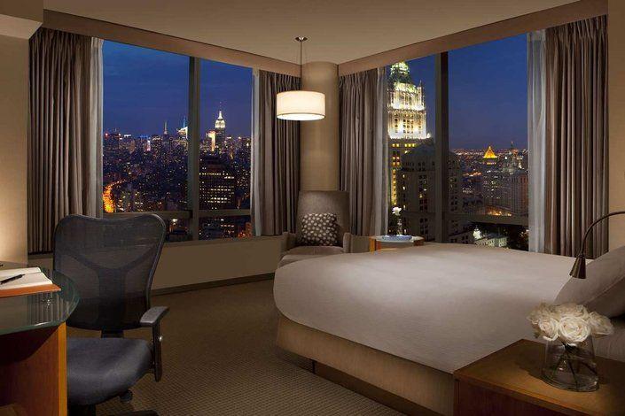 Millenium Hilton Hotel New York Ny King Corner Cityview