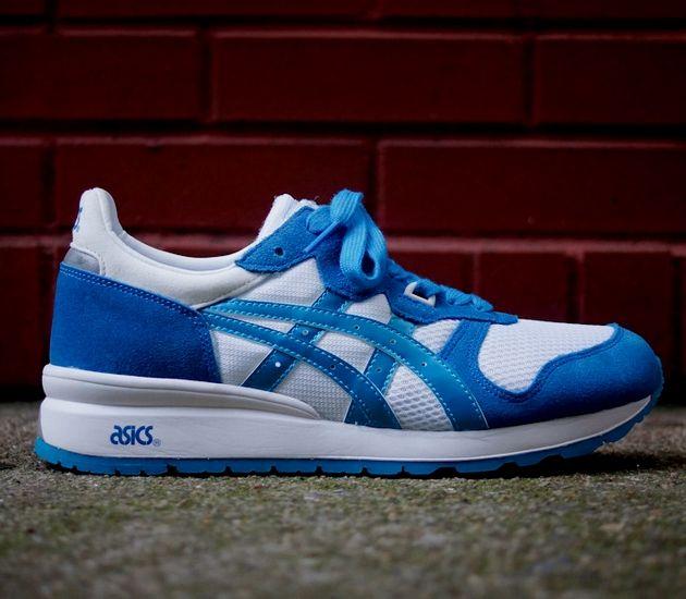 Asics Gel Epirus Blue White Sneakers Asics Asics Sneaker