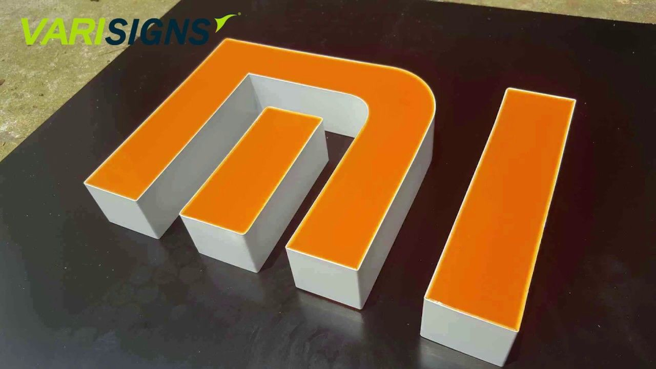 Best All In One Channel Letter Bending Machine For All Materials Channel Letters Letter Art Design Lettering
