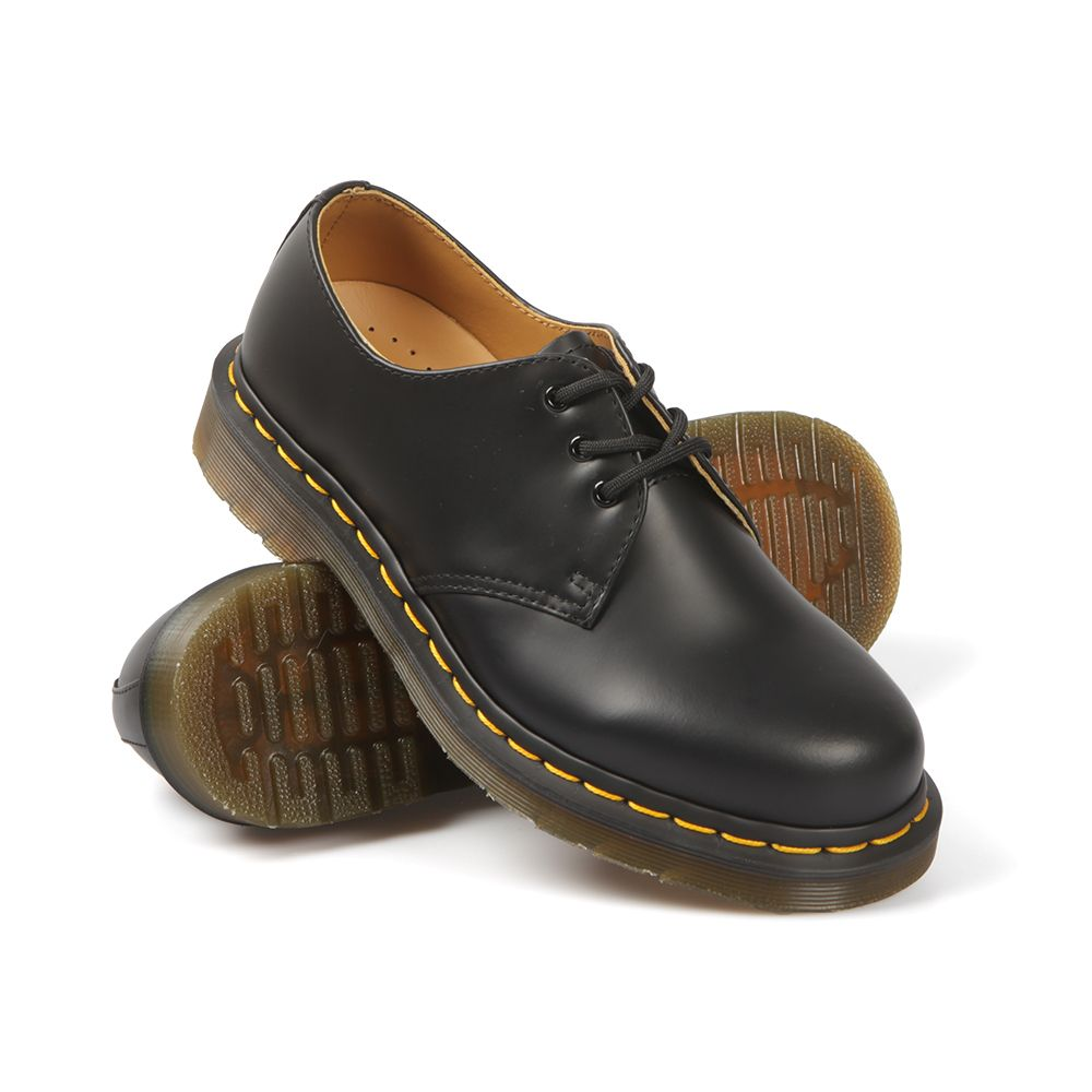 A great alternative to feminine flats! The Dr Martens 1461 Shoe available  at Masdings.