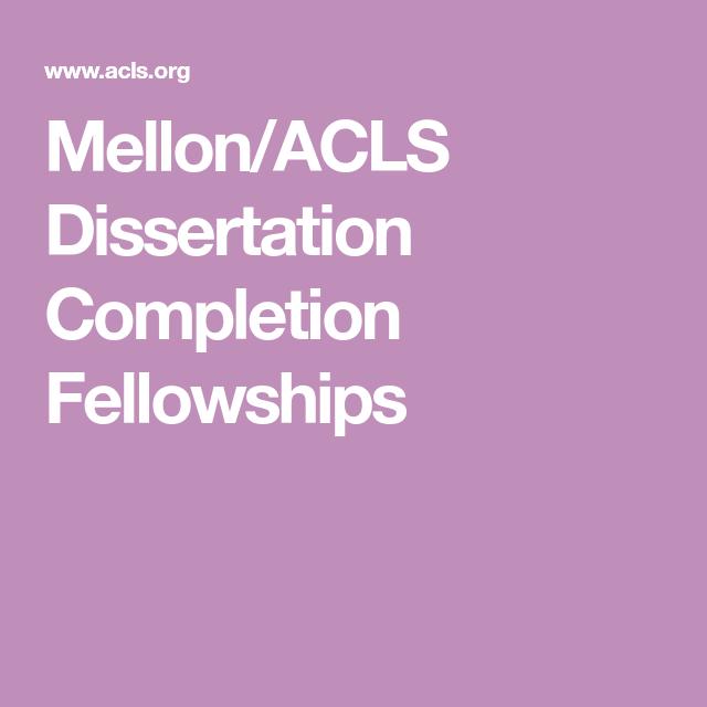 Acls dissertation