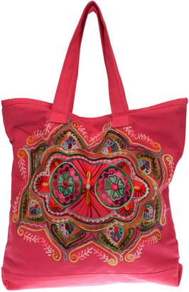d9cb686bf87b Zoda Floral Emb Tote Bag | 2.bags-hímzett-bohém | Pinterest | Tote ...