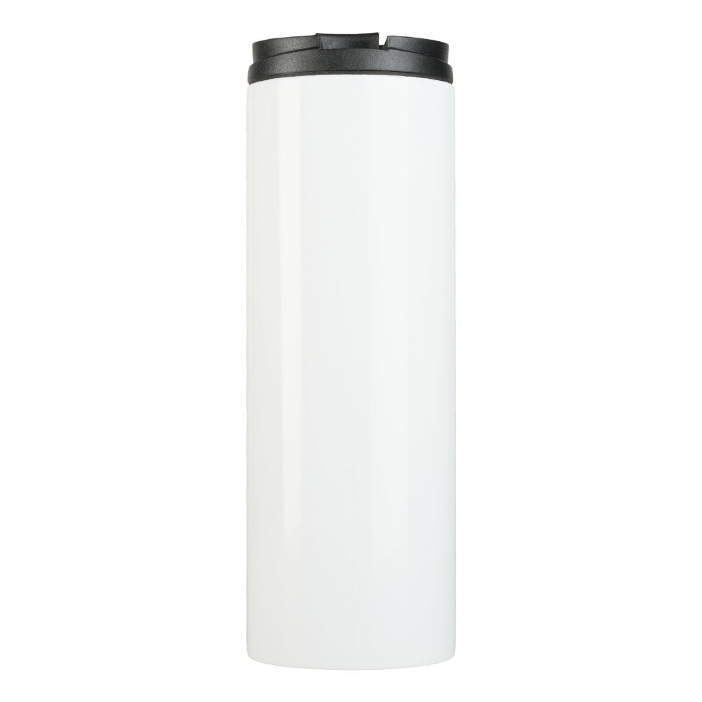 Black Bulldog Stripes Thermo Bottle