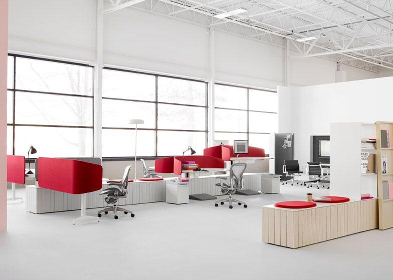 Herman miller office design public office landscape collection by fuseproject for herman miller design l