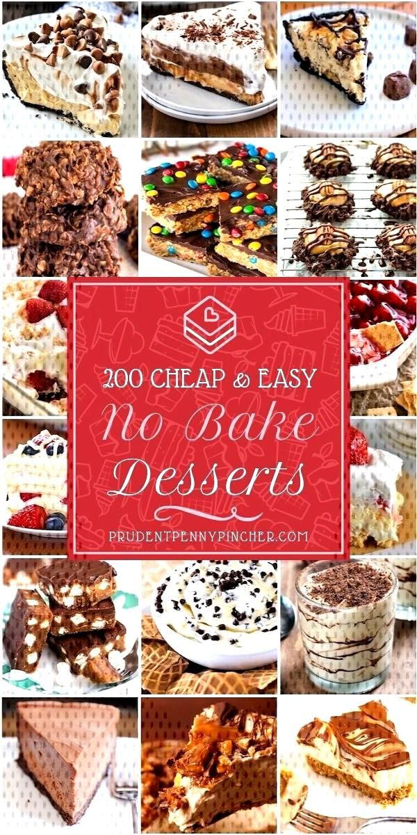 200 Cheap and Easy No Bake Desserts bake Desserts 200 Cheap and Easy No Bake Desserts