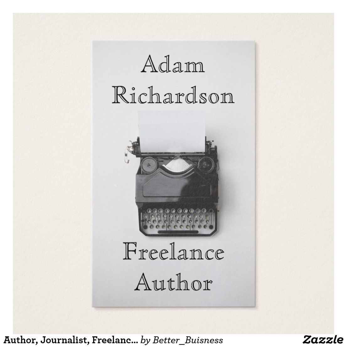 Author, Journalist, Freelance, Writer , Editor. Your business card ...