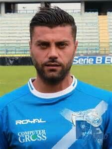 Italian soccer player Francisco Tavano
