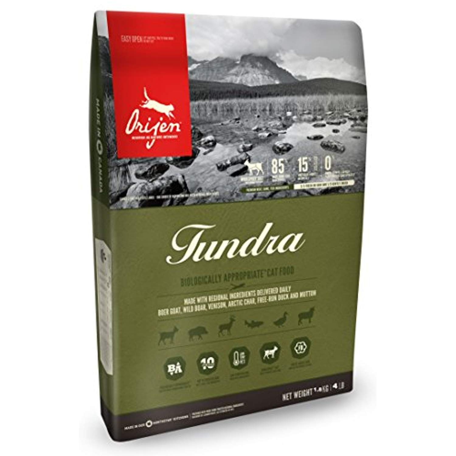 Orijen Tundra for Cats 4Lbs ** Read more reviews of the