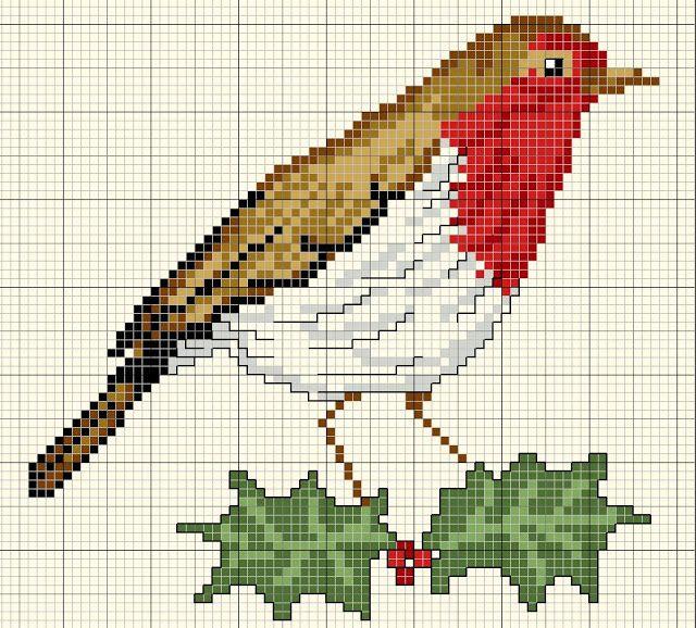 Gazette94 grille gratuite oiseaux pinterest grille gratuit et point de croix - Points de croix comptes grilles gratuites ...