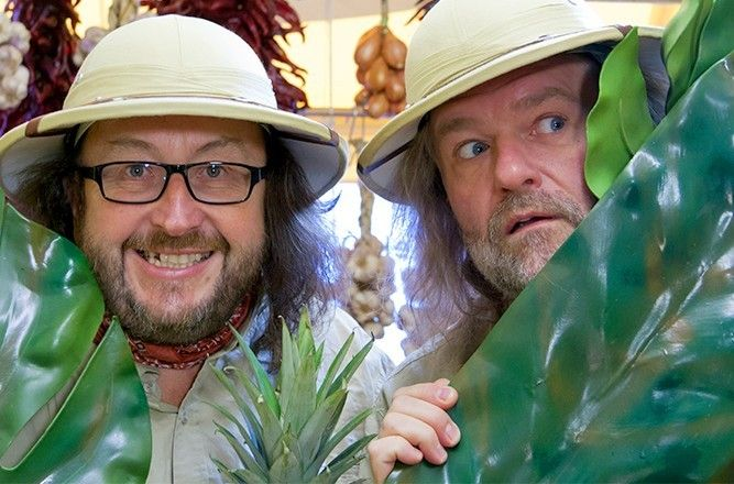 Hairy Bikers. Don't ask.