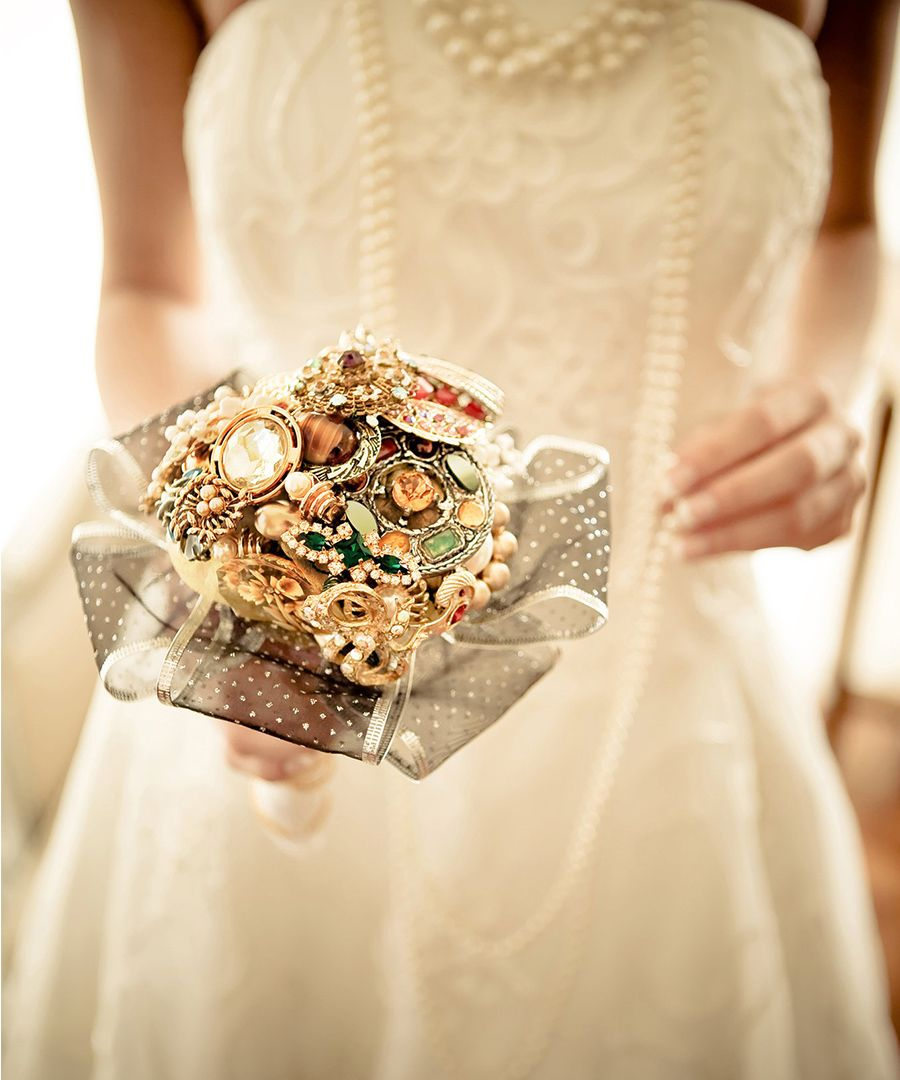 Non Floral Bouquets For The Unconventional Bride Wedding 2018