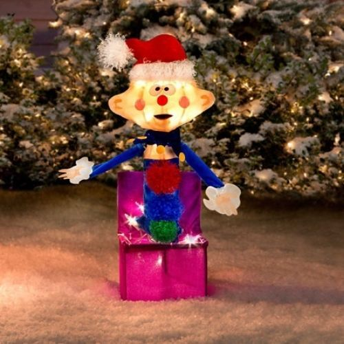 rudolph misfit toys charlie in the box yard art - Misfit Toys Outdoor Christmas Decorations