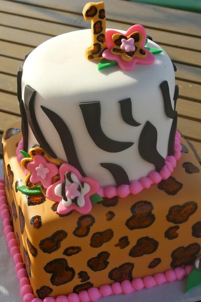 Safari Cake!  #