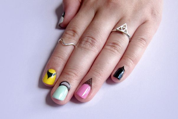 Latest Addition To The Nail Art Trend Cuticle Tattoos Cuticle Tattoos Nail Art For Girls Spirit Nails
