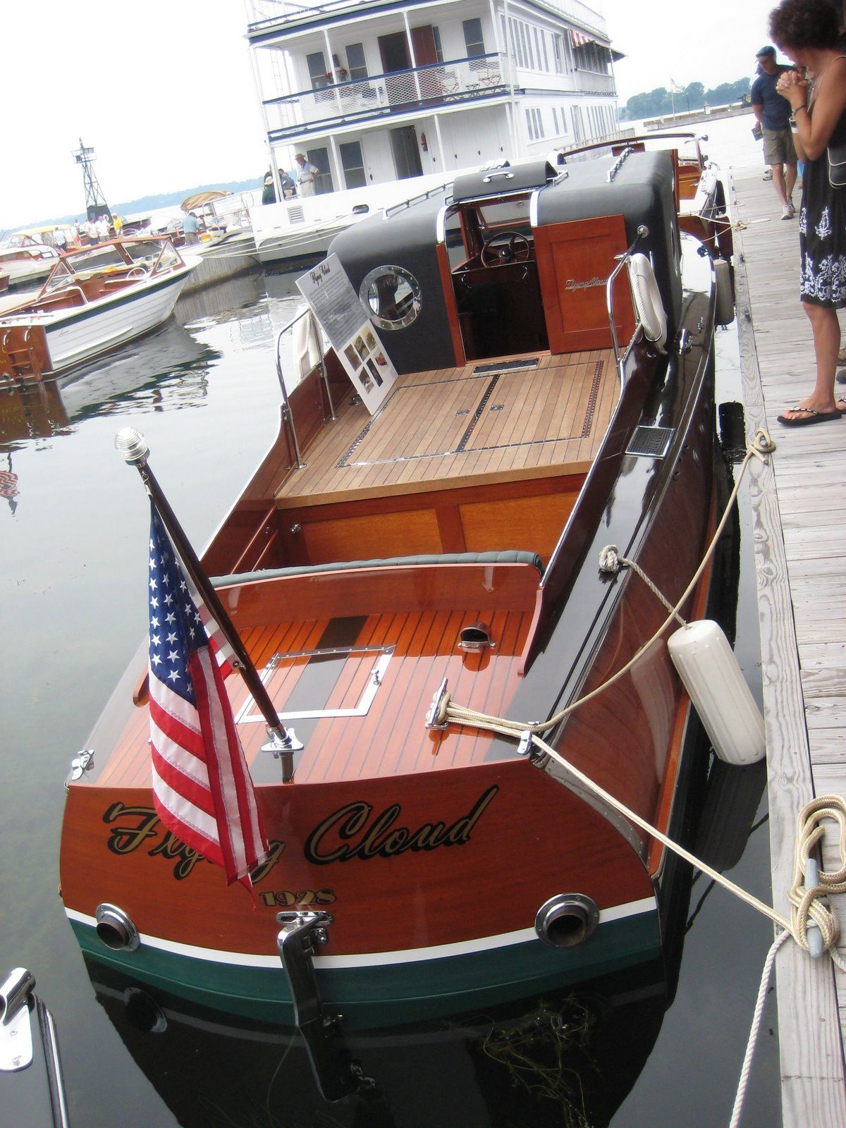 Al Capone S Chicago Lake Michigan Boat Flying Cloud