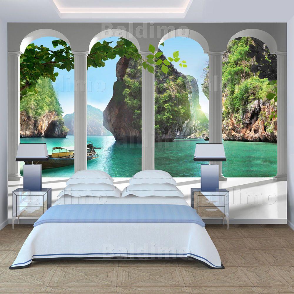 fototapete landschaft natur s ulengang vlies tapeten. Black Bedroom Furniture Sets. Home Design Ideas
