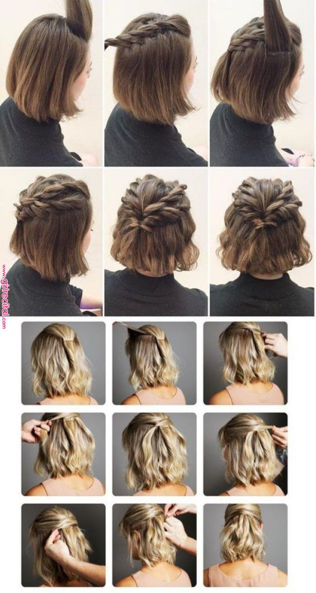 170 Easy Hairstyles Step by Step DIY hair styling can help ...