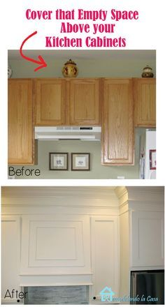 closing the space above the kitchen cabinets closing the space above the kitchen cabinets   moldings kitchens      rh   pinterest fr